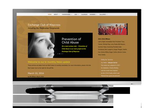 website design brantley georgia